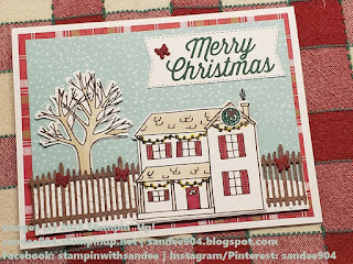 Quick and Easy Handmade Card Farmhouse Christmas Stamp and Dies