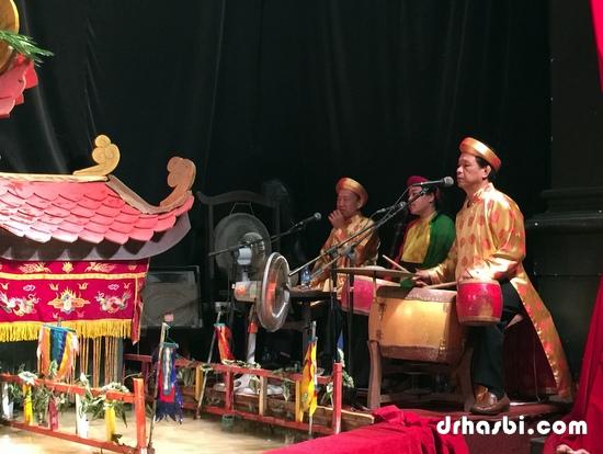 Dalam Water Puppet Theatre di Ho Chi Minh
