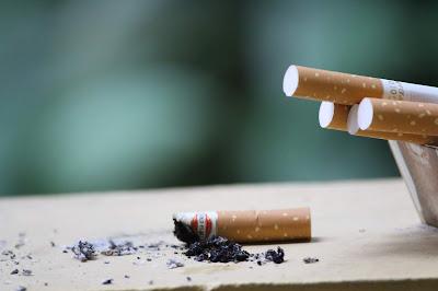 Merokok di kedai rokok