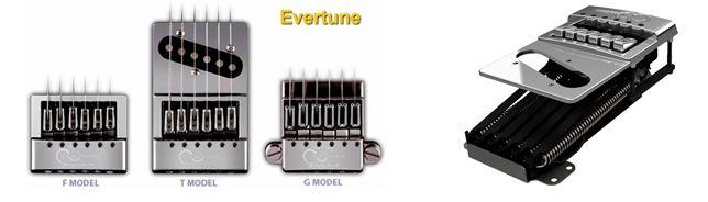 Evertune el Puente que Afina la Guitarra Automáticamente