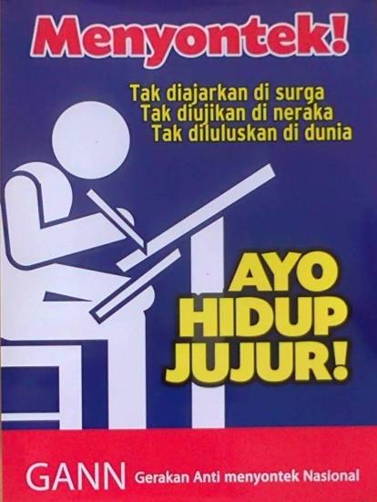 Contoh Slogan Dan Poster Contoh Laporan Perjalanan