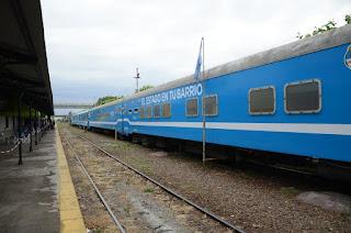 El Tren Sanitario ya se encuentra en Zapala