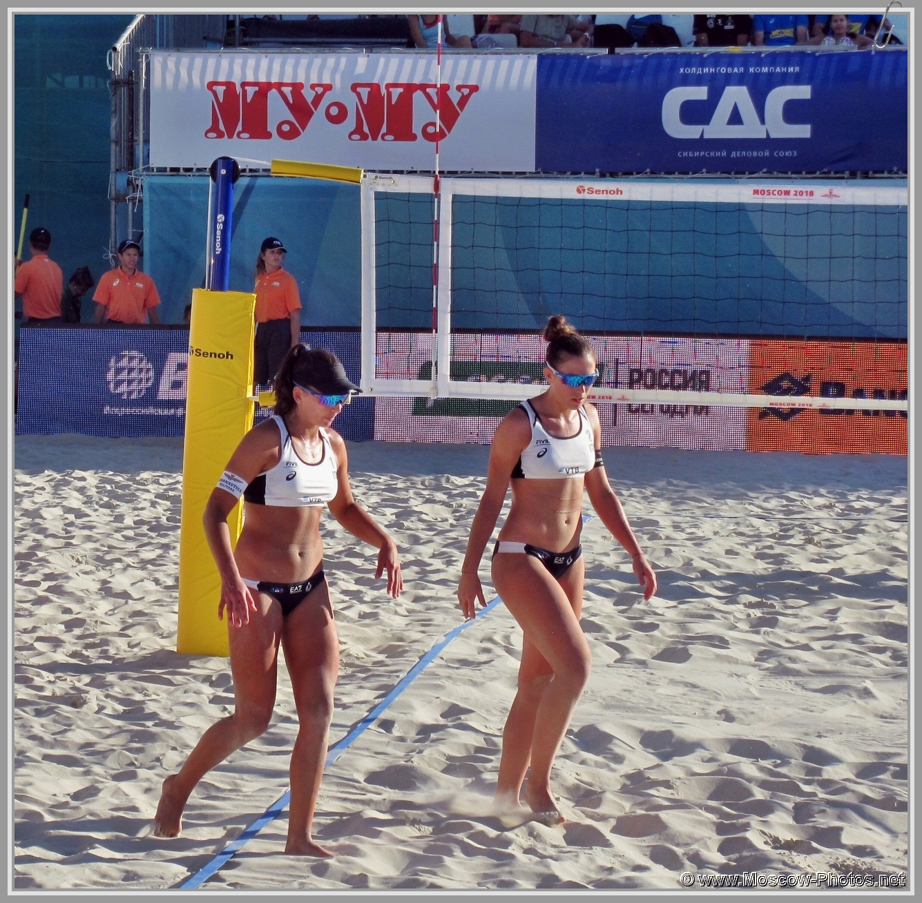 Marta Menegatti and Viktoria Orsi Toth  at FIVB Beach Volleyball World Tour