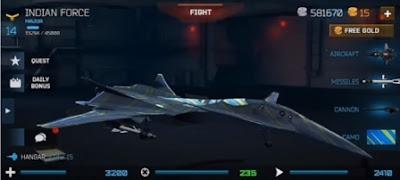 Modern Warplanes Mod Apk V1.1 Android Terbaru (Free Shoping)
