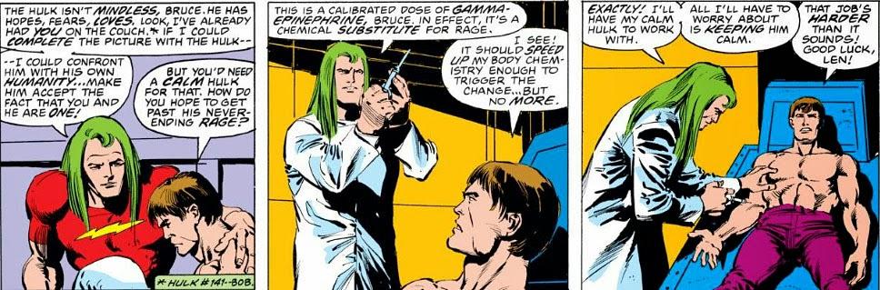 The Peerless Power of Comics!: The Monster's Analyst