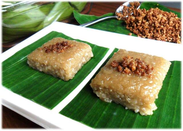 Sweet Sticky Rice Cake Recipe
