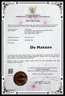 Rekening Resmi dan Asli Untuk Order Obat Herbal De Nature