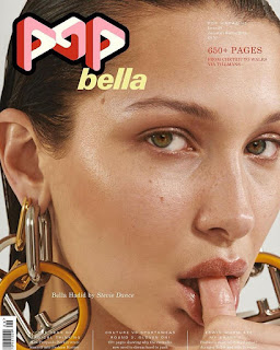 Bella Hadid for POP Magazine Fall Winter 2018