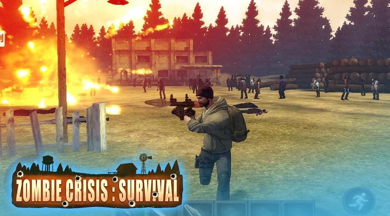 Zombie Crisis Survival  - v2.1 - APK - Mod Ammo