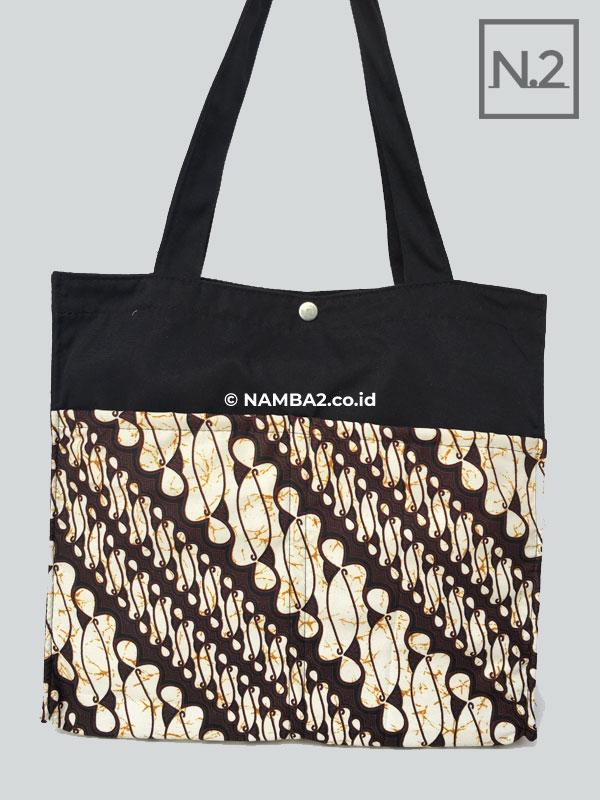 Tas Tote Bag Saku Batik Seminar Kit