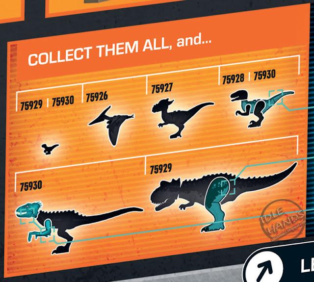 Lego Unveils The Complete Jurassic World Fallen Kingdom: Idle Hands: Toy Fair 2018: LEGO Jurassic World: Fallen