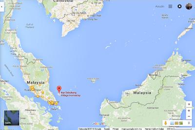 Aur Island, Malaysia.