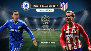 Jadwal Liga Champions matchday terakhir 5 Desember 2017