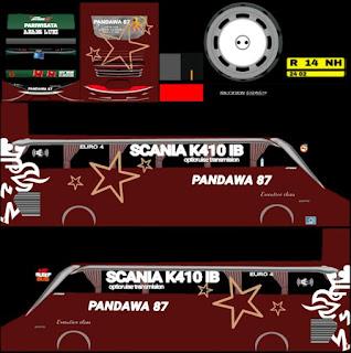 Download Livery Pandawa 87 Scania K410 IB