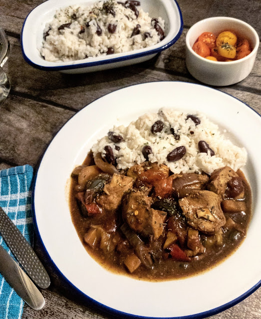 Jamaican Chicken Stew with Rice & Peas Recipe SLimming World