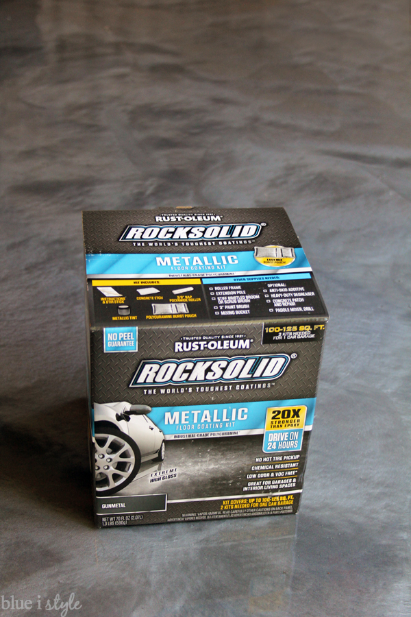 How To Apply Rocksolid Metallic Garage Floor Finish Blue