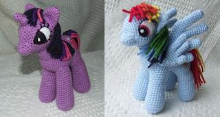 Free pattern mi pequeño pony amigurumi