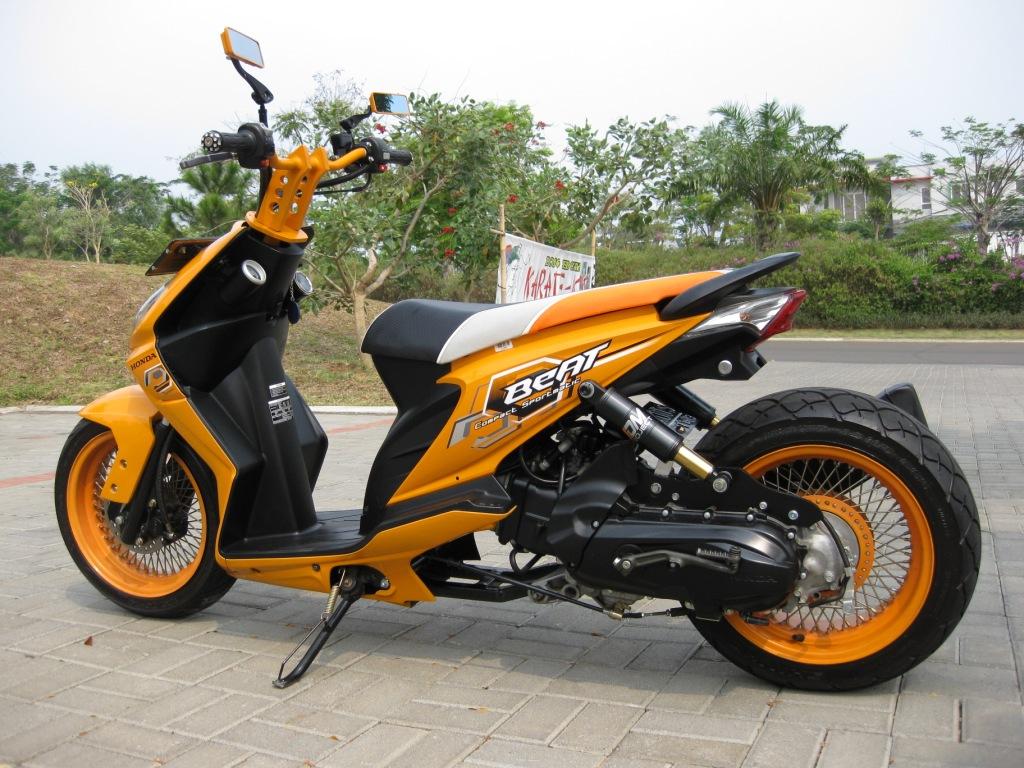 Ide 84 Modifikasi Honda Beat Japstyle Terkeren Janur Modifikasi