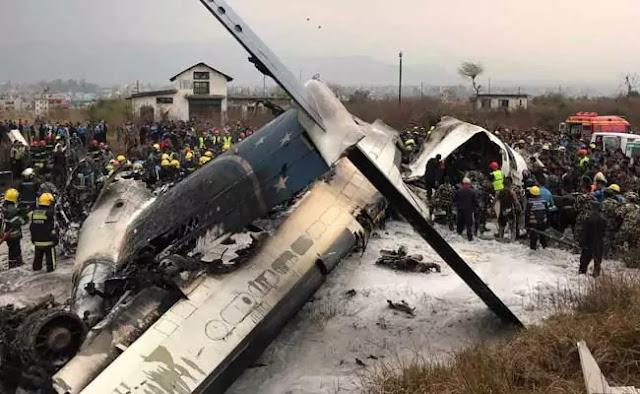 Nepal: Bangladesh passenger plane crash at Kathmandu airport, 50 people Died