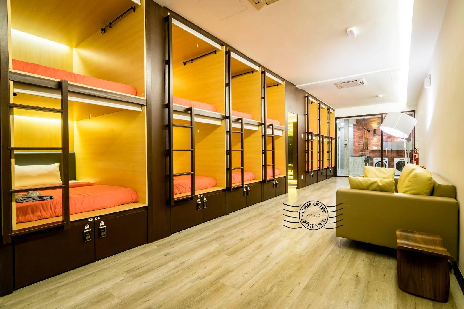 Penang First Women Only Capsule Hotel - Sogor Girls Dormitory @ Jalan Burmah, Penang