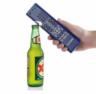 TV Remote Control Bottle Opener