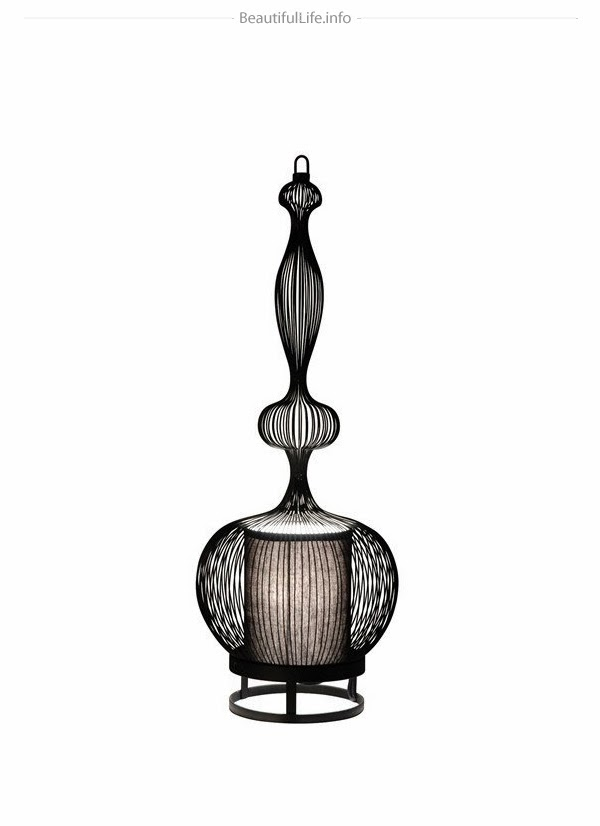 Eclectitude Wire Lamps By Forestier Paris