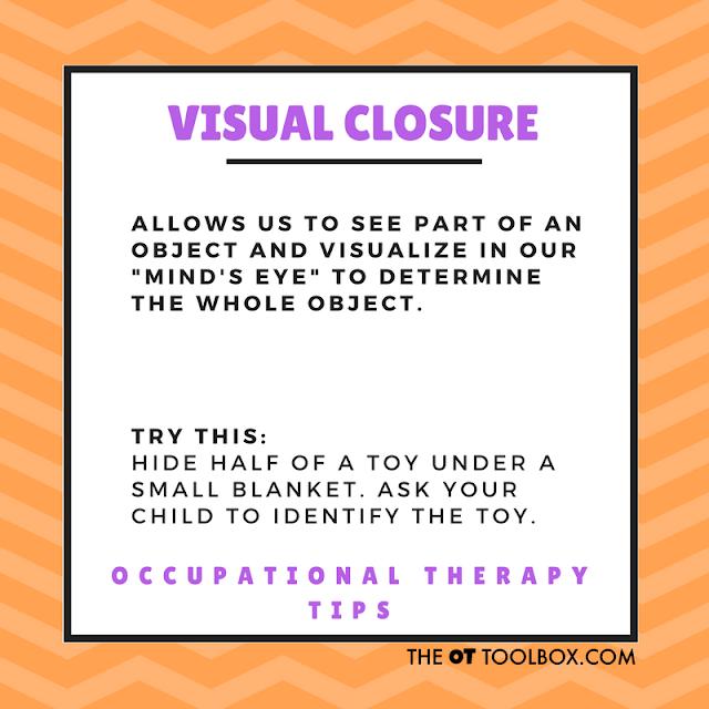 Visual closure activity