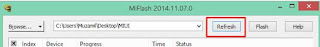 Flash Xiaomi Mi Pad mode Fastboot via MiFlash