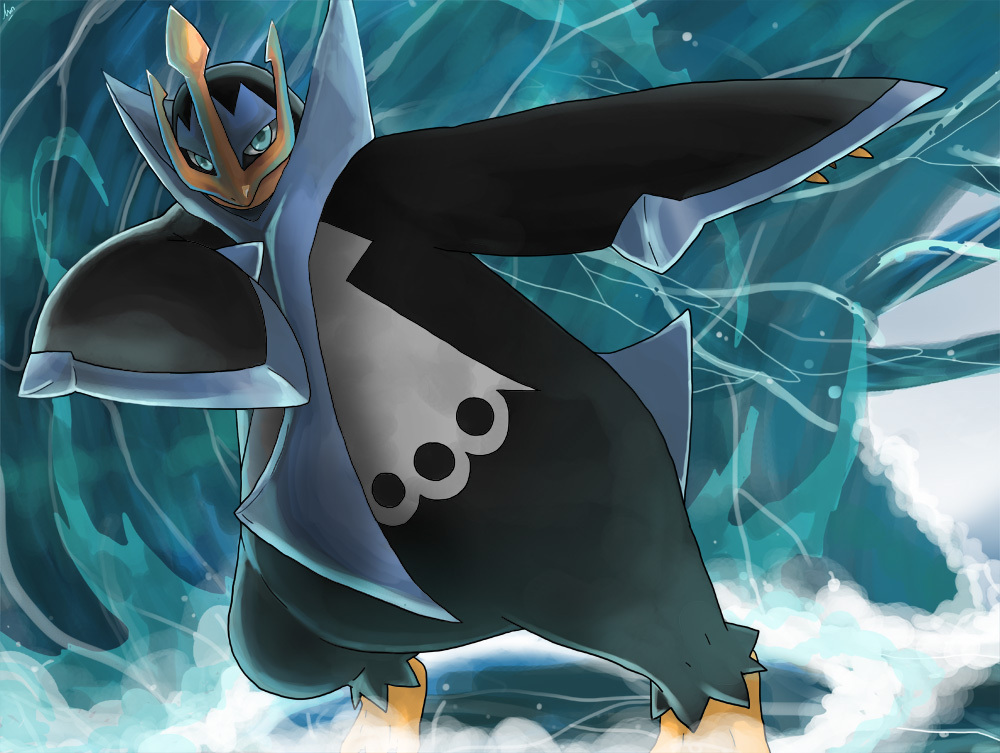 Pokémon by Review #393 - #395 Piplup, Prinplup  Empoleon