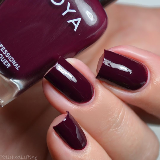 mulberry creme nail polish