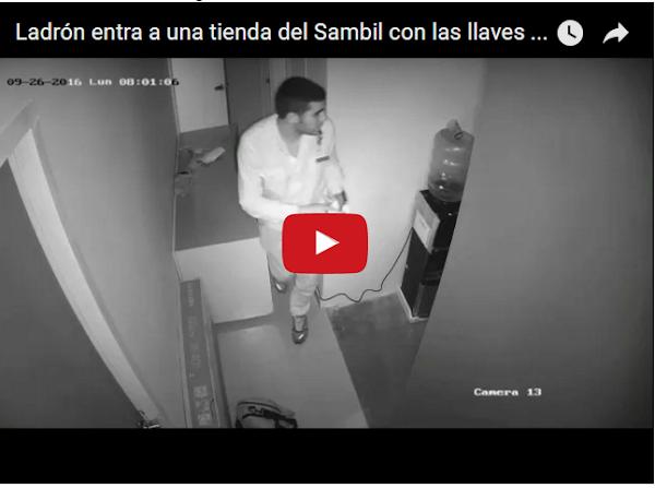 Ladrón entra al Sambil para robarse 70 teléfonos celulares