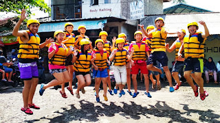 Perlengkapan body rafting green canyon