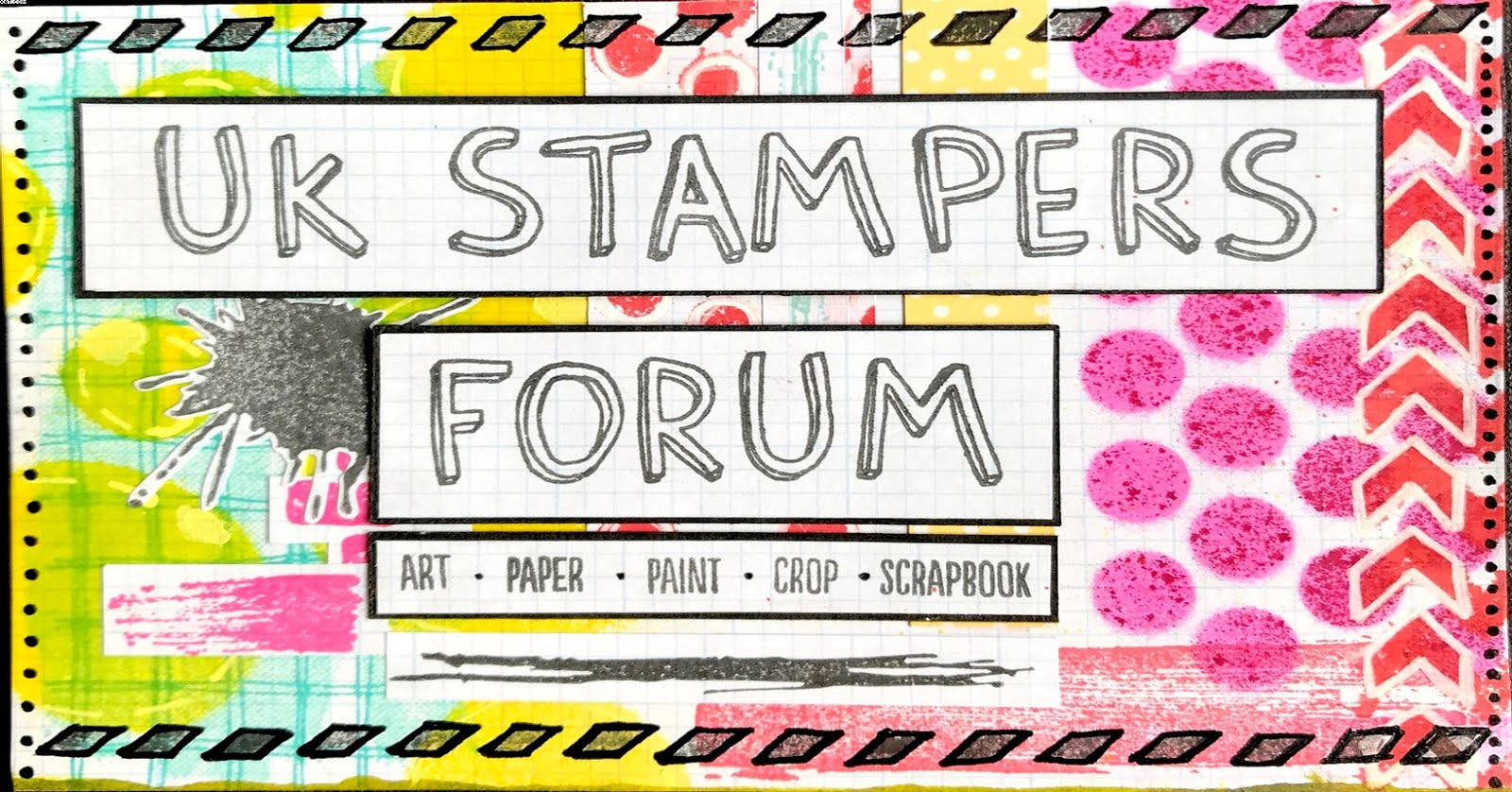 Why Not Join UK Stampers Forum, It's free, friendly & fun ....Just Click the Logo