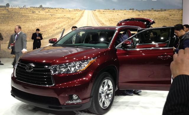 Toyota Highlander Price