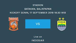 Prediksi Borneo FC vs Persib Bandung - Liga 1 Senin 17 September 2018