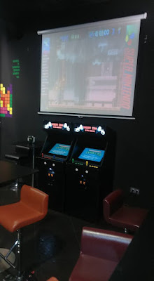 Local Retro Barcade Insert Coin