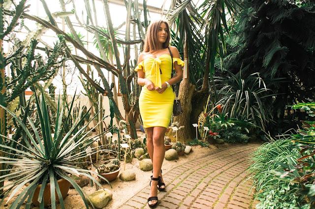 Żólta sukienka w zielonej scenerii  - Czytaj więcej