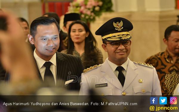 Wacana Duet Anies-AHY Menguat, Prabowo Kandas?