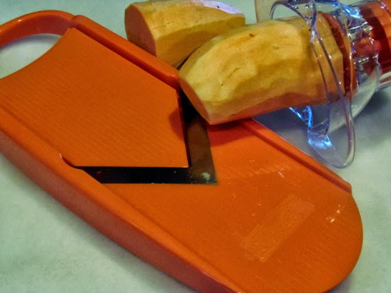 Smoky Sweet Potato Chips #SundaySupper - Kudos Kitchen by Renée