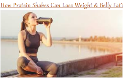 How Protein Shakes Can Lose Weight & Belly Fat
