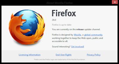 Download Mozilla Firefox 20 Terbaru 2013