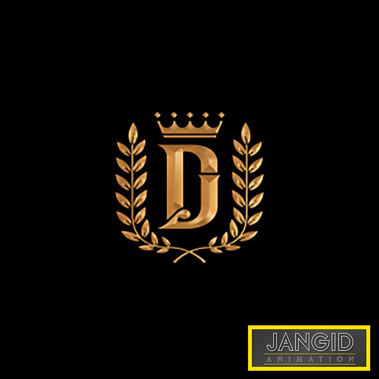 Dj Golden Cool Logo Design By Jangid Animation Jangid Animation