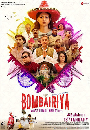 Poster Of Hindi Movie Bombairiya 2019 Full HD Movie Free Download 720P Watch Online