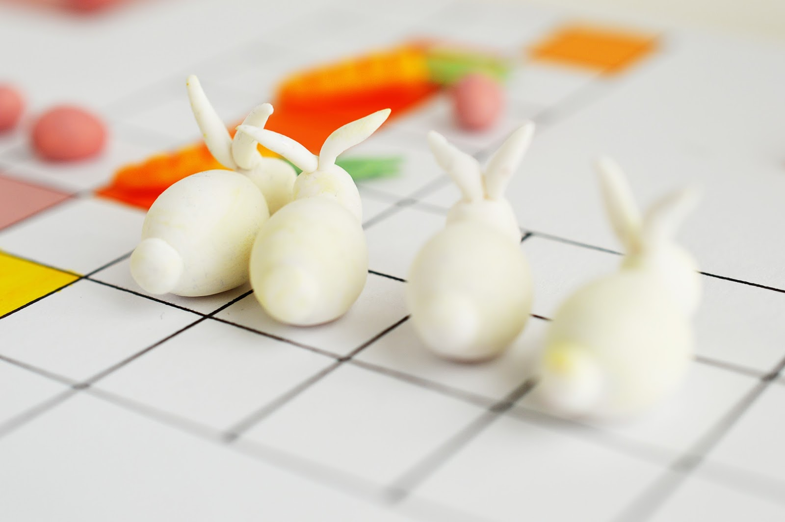 DIY Easter Board Game | Bunny, don't you worry | Motte's Blog