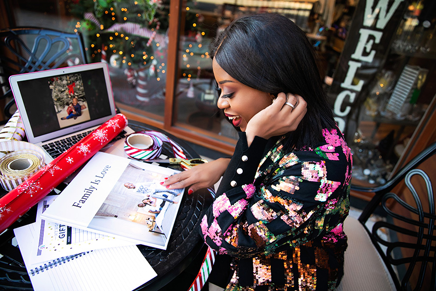 Stella-adewunmi-of-jadore-fashion-getting-ready-for-christmas