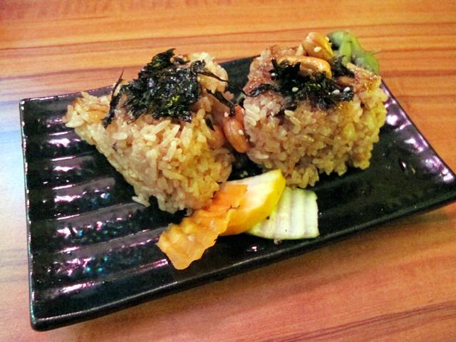 菁串燒烤油飯糰