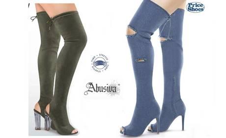 botas textil abusiva price shoes