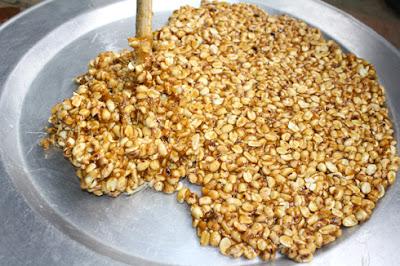 Cách làm kẹo đậu phộng giòn