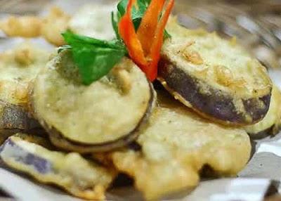 Resep Vegetarian Terong Crispy