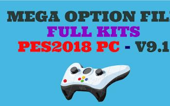 Mega Option File | V9.1 | DLC1.0 | PES2018 | Released [05.10.2017]